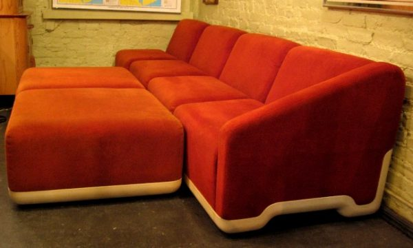 1970s Harvey Probber 6 Piece Sectional Sofa