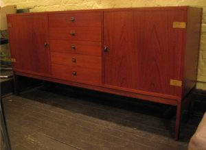 1960's Teak Danish Credenza by France & Sons