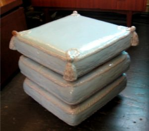 Ceramic Pillows Table / Stool