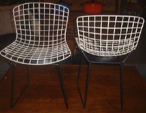 Bertoia Wire Children's Chairs