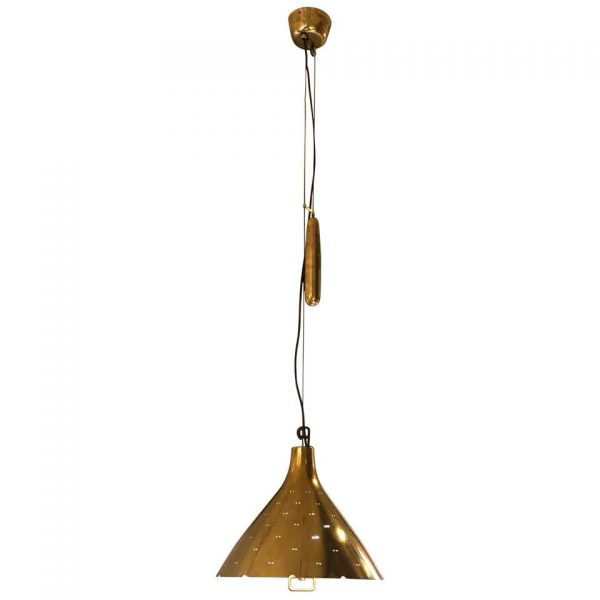 Counterweight Pulley Pendant Lamp by Paavo Tynell