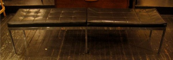 Florence Knoll Chrome Bench