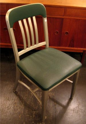 Goodform Aluminum Side Chairs