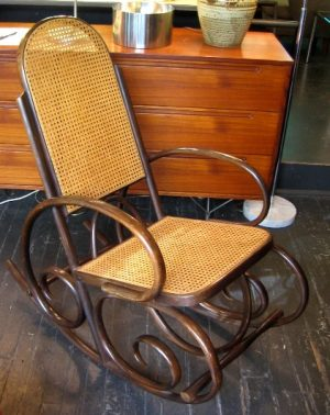 Bentwood Rocker in the style of Thonet
