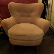 1950s Upholstered Club Chair