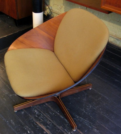 Bentwood Club Chair by George Mulhauser for Plycraft