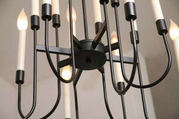 Sixteen Arm Chandelier by Lightolier