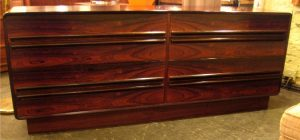Brazilian Rosewood Double Dresser from Norway