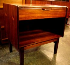 Brazilian Rosewood Night Stand / Side Table