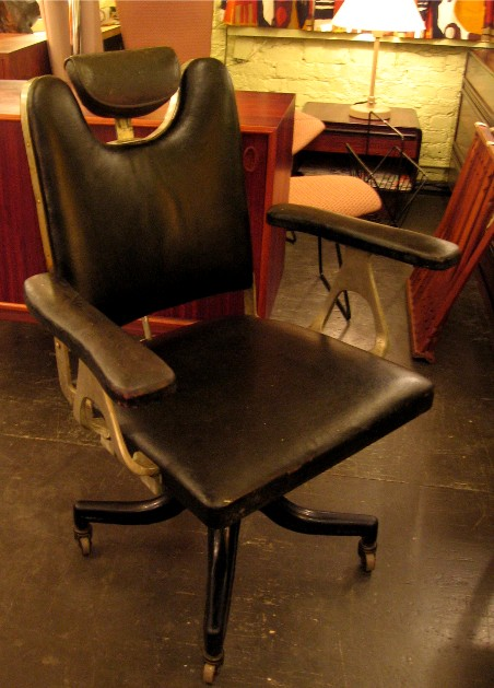 1940s Industrial Style Beautician's Chair