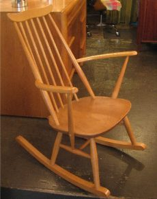 1960s Ercol Goldsmith Rocker