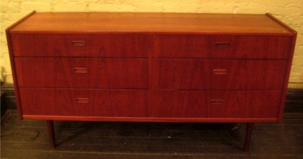 1960s Teak Double Dresser from Denmark