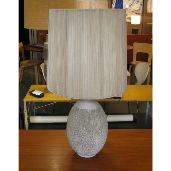 Lee Rosen for Design Technics Textured Ceramic Lamp