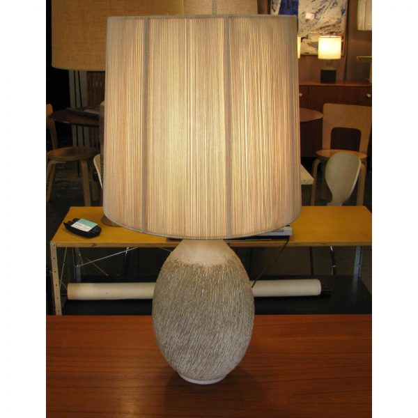 Lee Rosen for Design Technics Textured Ceramic Lamp