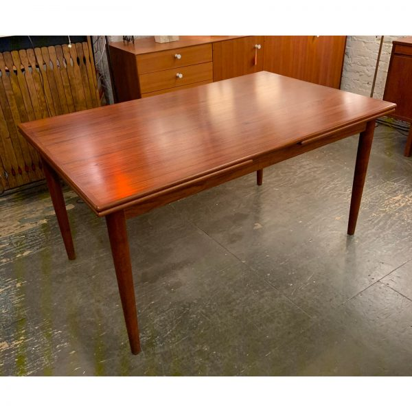1960s Scandinavian Teak Refractory Table by Ansager