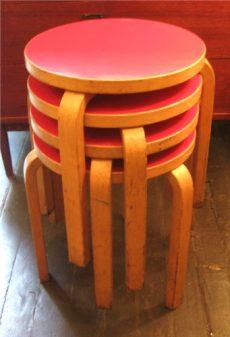 Alvar Aalto Stacking Stools/Tables