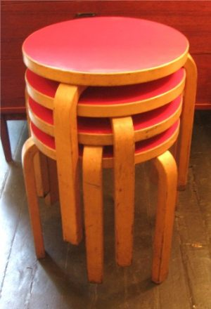 Alvar Aalto Stacking Stools/Tables