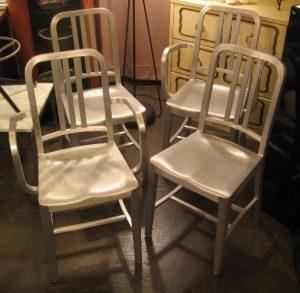 Emeco Aluminum Chairs