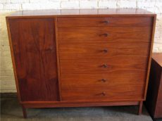 1960s Walnut Gentleman's Chest