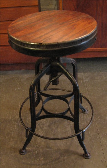 Adjustable Industrial Toledo Swivel Stool