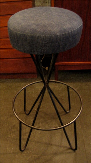 Frederick Weinberg Wrought Iron Stool
