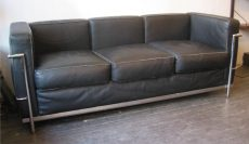 Corbusier Petit Three Seat Sofa