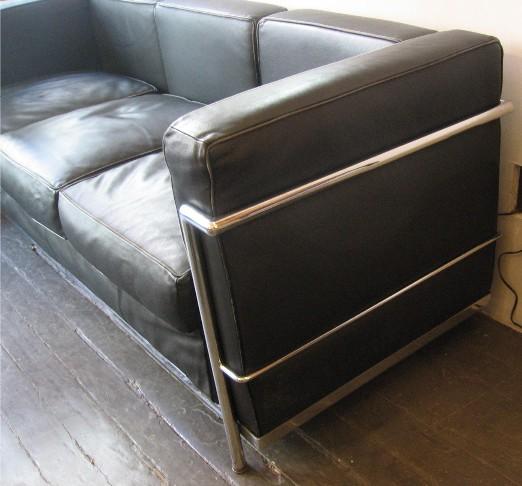 Corbusier Petit Three Seat Sofa