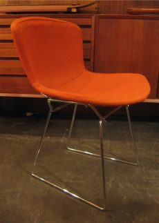 Bertoia Chrome Wire Side Chair by Knoll