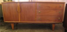 American Walnut Credenza from the 1960s
