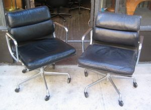Eames Soft Pad Management Chairs by Herman Miller