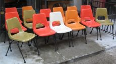 Brunswick Fiberglass Chairs from the 1960s