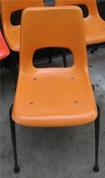 Brunswick Fiberglass Chairs from the 1960s