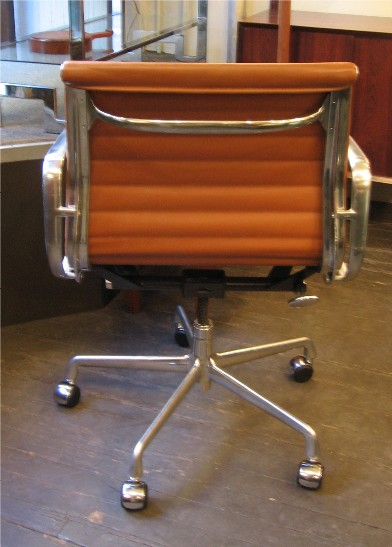 Eames Aluminum Group Management Chair by Herman Miller in Brown