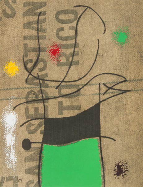 Rare Joan Miro Book from 1961 with Loose Lithographs