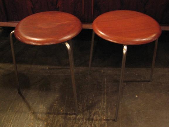 Arne Jacobsen Dot Stools for Fritz Hansen