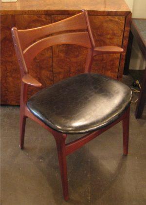 Erik Buck Teak Dining Chair with Arms