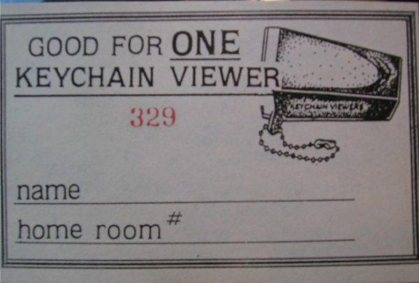 1970s Keychain Viewers