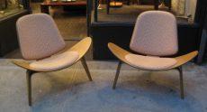 Hans Wegner Shell Chairs by Carl Hansen & Son
