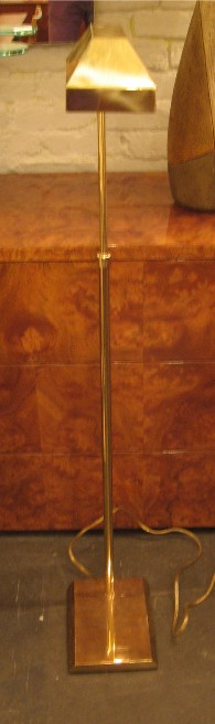 Adjustable Brass Floor Lamp by Chapman