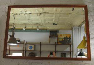 Walnut Mirror by Kipp Stewart for Drexel
