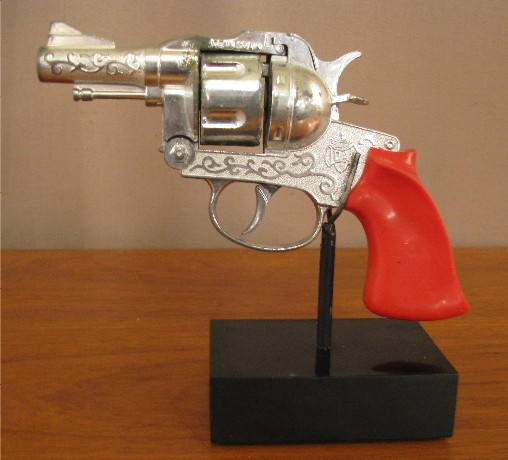 Mounted 1970s Cap Gun