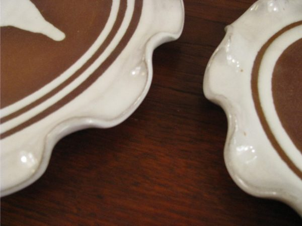 Ceramic Serving Plates by Stephen Pearce Studio Pottery