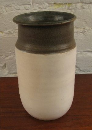 Studio Pottery Vase by V. A. Peck