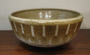 Studio Pottery Stoneware Serving Bowl