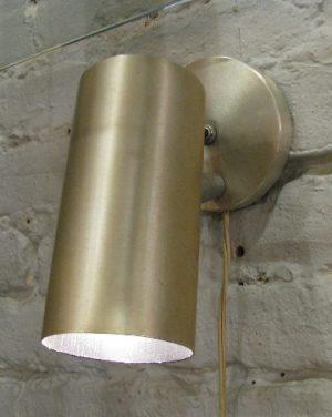 Spun Aluminum Wall Mount Spot Light