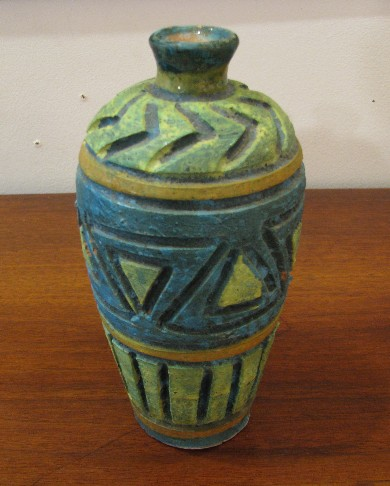 1950s Rustic Modern Bud Vase from Florence Italy