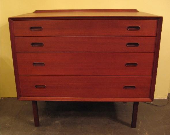Arne Vodder Attr. Small Teak Dresser by Sibast Denmark