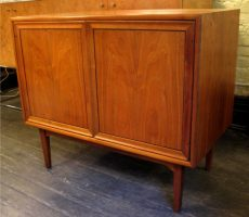American Walnut Two Door Cabinet