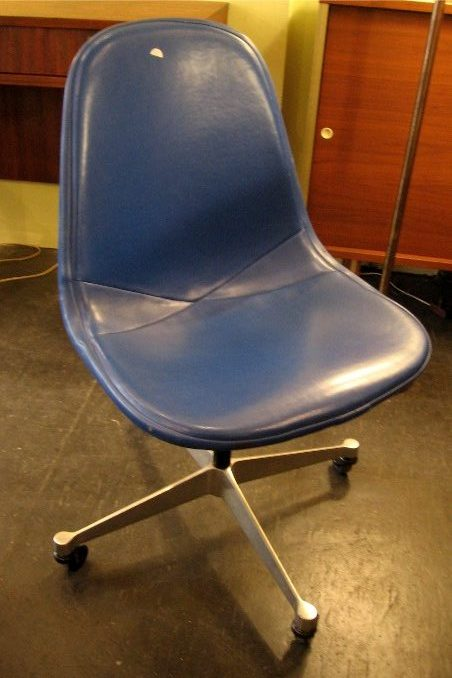 Eames White Wire Side Chair w/ Aluminum Group Base