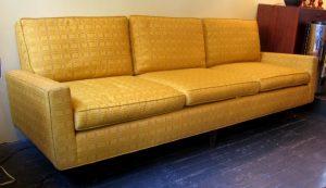 Florence Knoll 3 Seat Sofa in Original Knoll Fabric